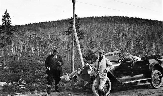 Ernst ja Wolter 1921 matkalla Petsamoon