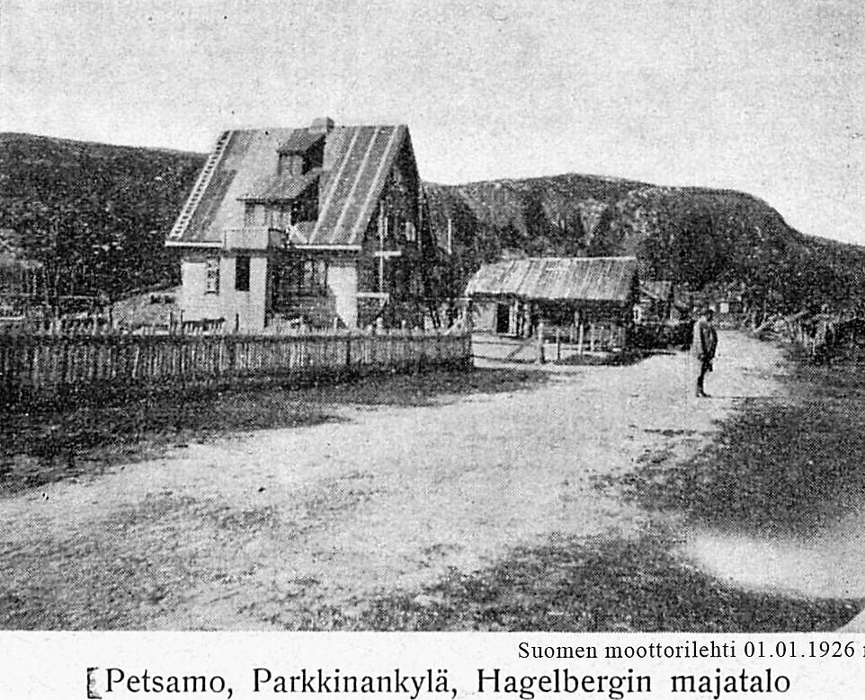 Hagelberg majatalo Parkkina