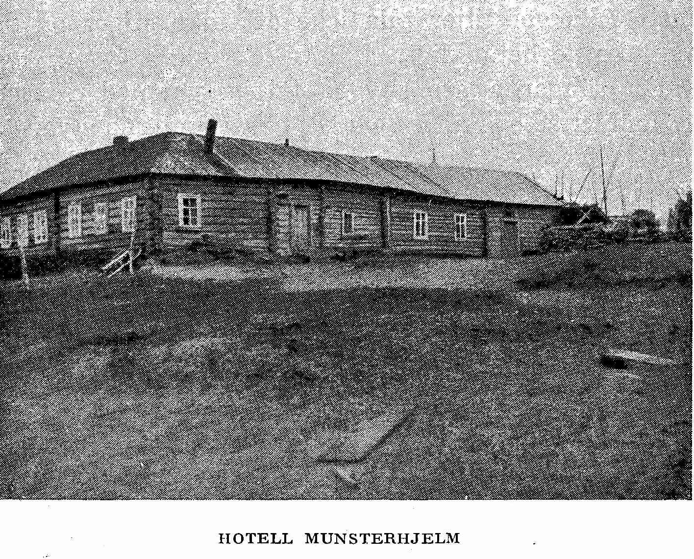 Hotelli Munsterhjelm Petsamo 1923
