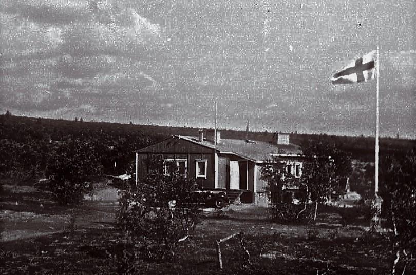 Launispään Alamaja 1960-luvun alussa