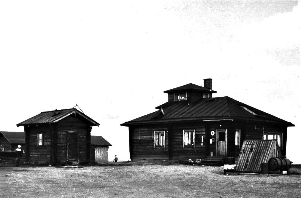 Kaunispään Ylämaja 1950-luvun alussa